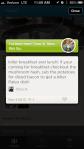 Foursquare Tip
